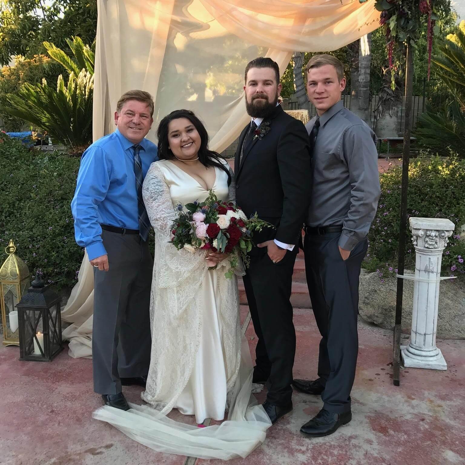 Wedding Ceremony And Reception In Upland San Antonio